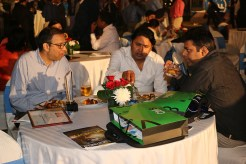 SUMEET PRAKASH OF EMARSON WITH OTHER GUESTS