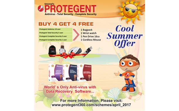 Protegent's Cool Summer Offer April 2017: BUY 4 GET 4 By Unistal