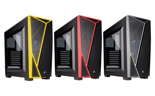 Corsair Carbide SPEC-04 Black//Red Mid-Tower Gaming Case