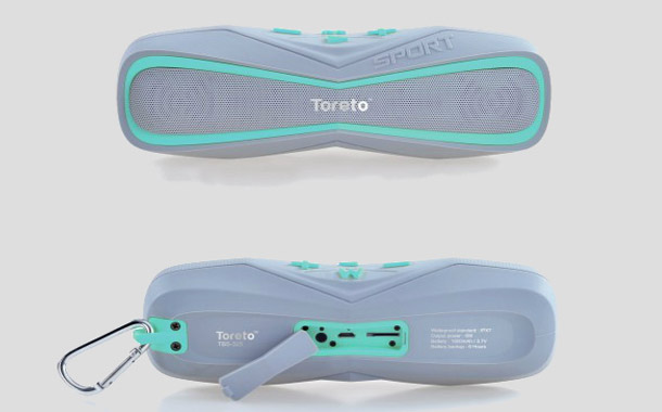 Toreto Aqua Waterproof Bluetooth Speaker TBS 325