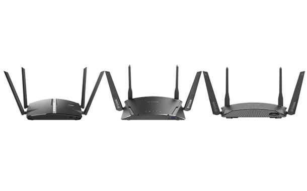 D-Link Smart Mesh Routers with McAfee Protection
