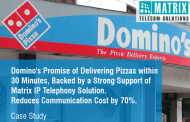 Domino's relied on Matrix Telecom Solutions for seamless and efficient communication
