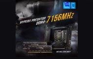 Kingston HyperX Sets DDR4 Overclocking World Record at 7156MHz