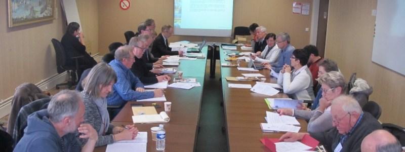 Comité syndical du 15 décembre 2016 à la maison du département à Saint Lô (@SMEL)