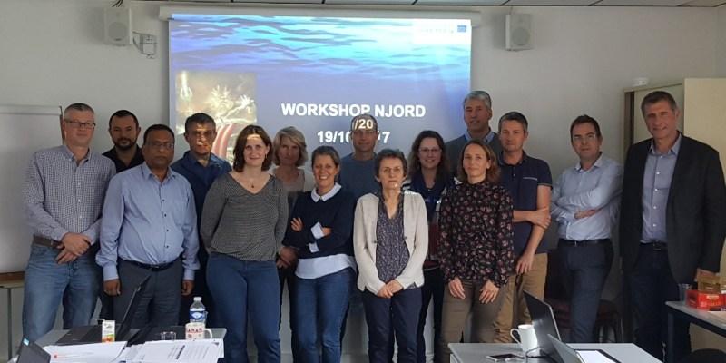 Groupe de travail à Port en Bessin le 19 octobre 2017.