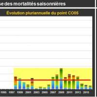 Chausey Mortalité Adulte
