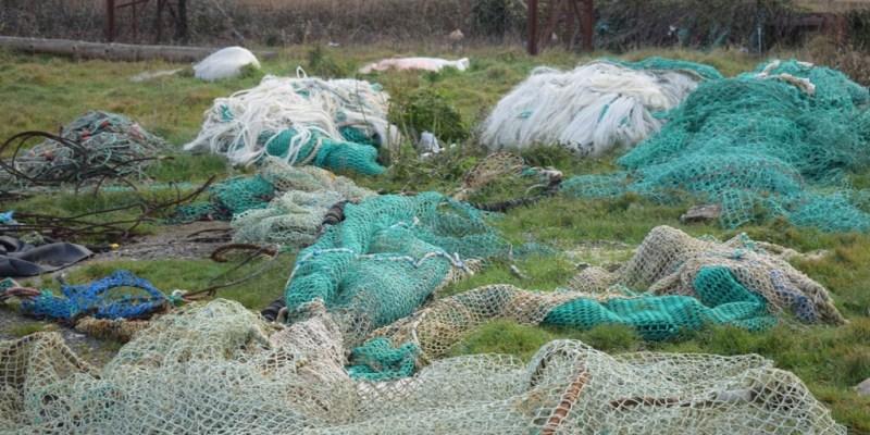 Déchets issus de la pêche (crédit photo : SMEL)