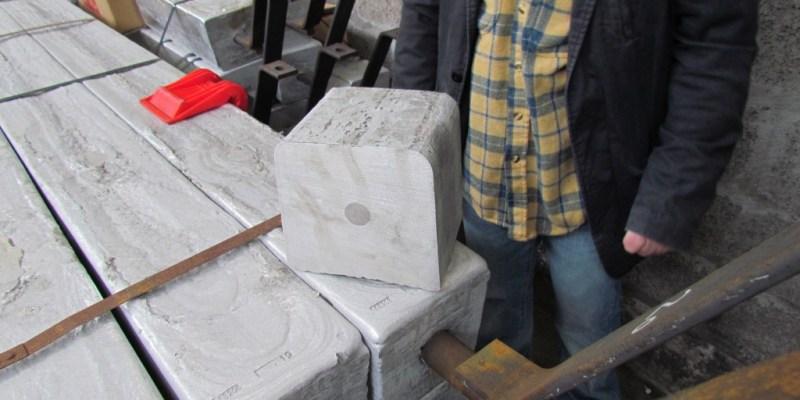 Anode Aluminium Indium avant la pose (@SMEL)