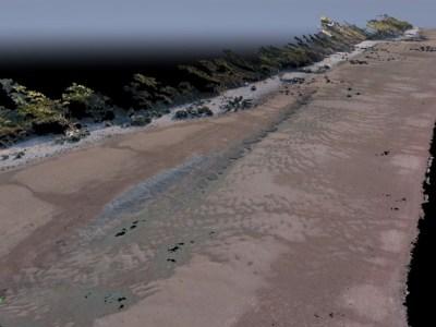 Orthophoto globale du site en 3D (@SMEL)