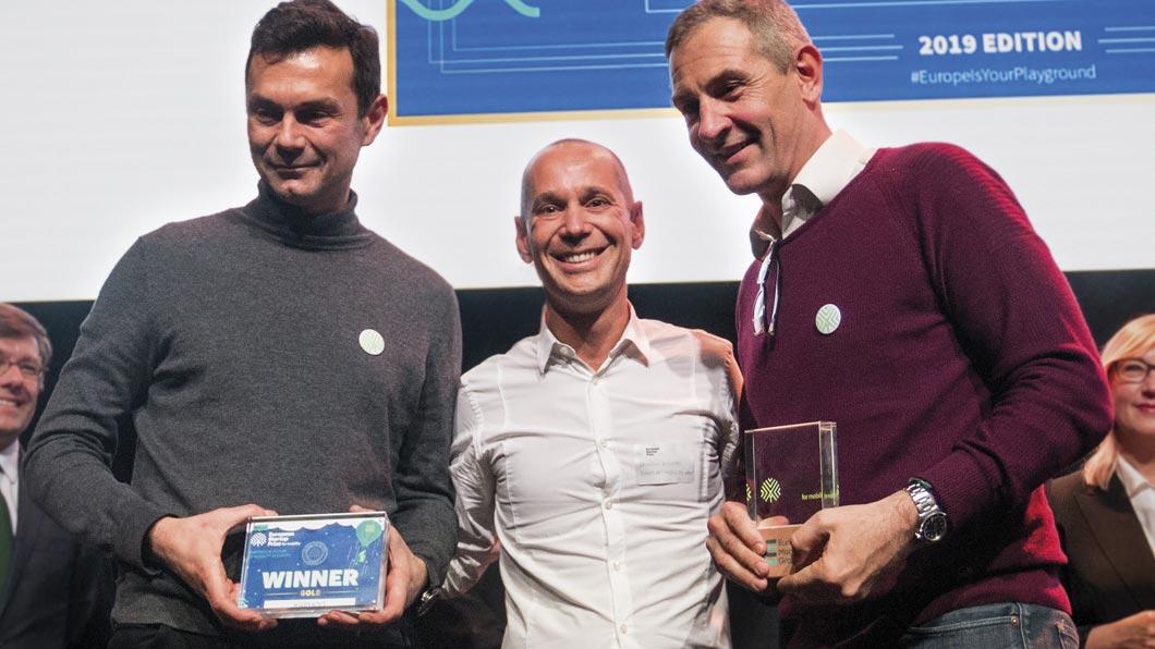 Karhoo won the European Startup Gold Prize