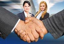 deals shaking hands