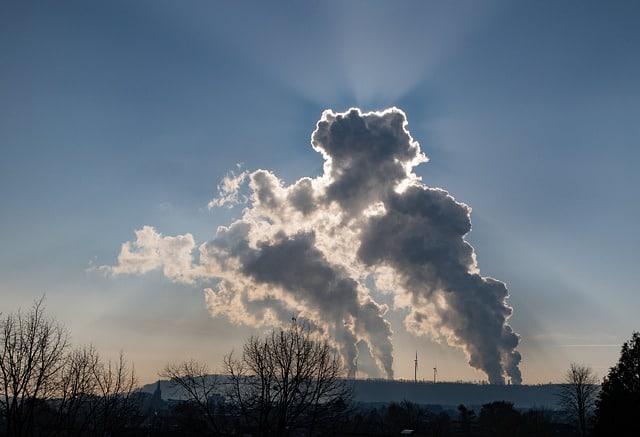 polluting smoke