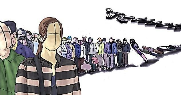 jobs queue dominoes