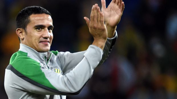 $10m man: Tim Cahill has signed a record deal with Shanghai Shenhua.