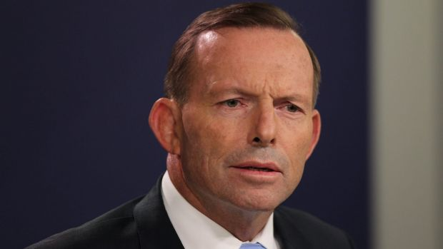 Prime Minister Tony Abbott announces that he will not step down despite a challenge to his leadership.