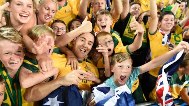 It's hoped fans will come out in force to celebrate the sides arrival in Perth - a first for a decade