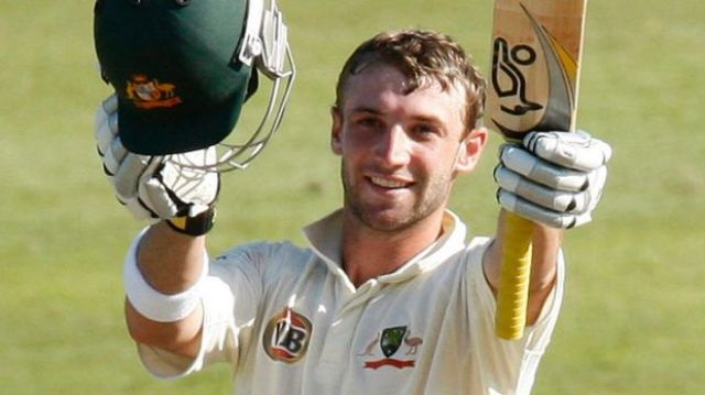 Phillip Hughes died after being struck by a cricket ball on the back of his head.