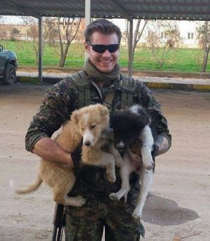 A man reported killed fighting against Islamic State in Syria, and identified as 28-year-old Australian Ashley Kent Johnston.