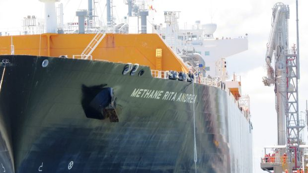 BG's QCLNG venture shipped its first cargo from Gladstone in early January.