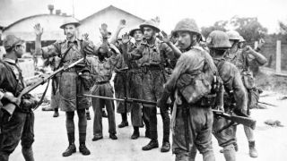 Image result for pics of fall of singapore1942