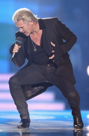 Three-time Eurovision winner Johnny Logan is based in Germany and was born in Australia.