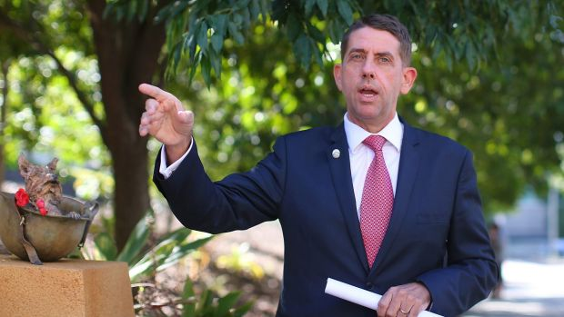 Health Minister Cameron Dick has told an AMA conference that Federal funding changes will cost Queensland 8000 doctors and nurses.