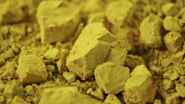 Yellowcake uranium. Asia's burgeoning nuclear energy industry fuelling demand for the radioactive metal.