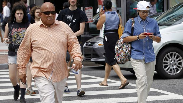 A New Jersey lawmaker is targeting distracted walking. The proposed measure would ban walking while texting and bar ...
