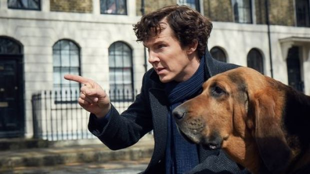 A first look at Sherlock season 4.