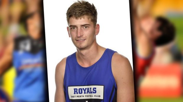 Beau Chatley injured his spinal cord in a Perth WAFL reserves game.