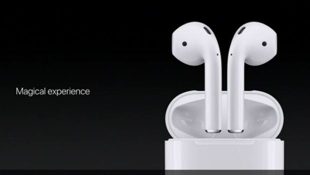 Apple introduces the wireless AirPods.