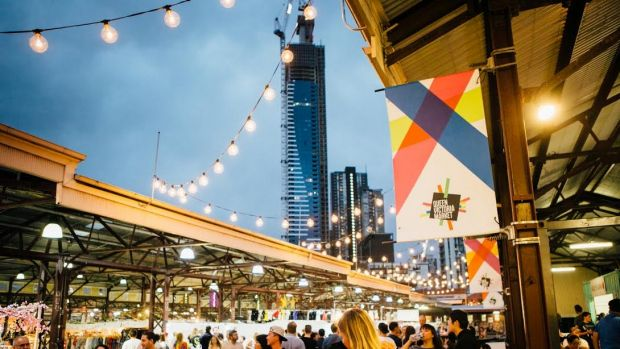 Summer Night Markets at Queen Victoria Market