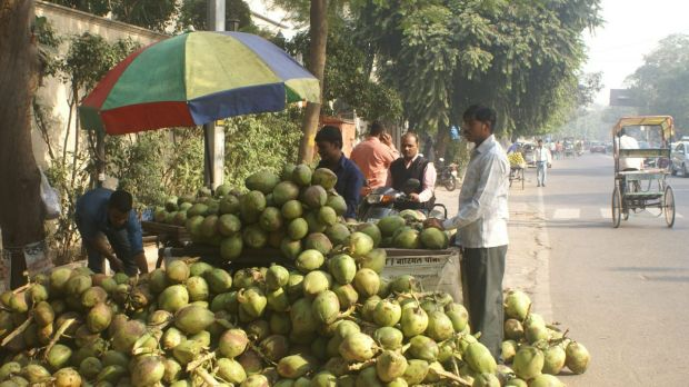 Coconut water seller Mohan Kishore says the cash crisis has made it hard for him to pay his suppliers but he feels the ...