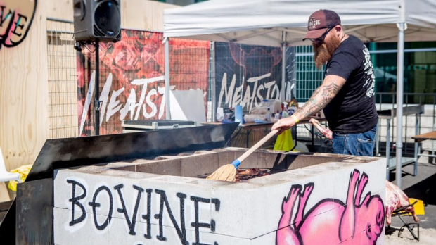 Meatstock: a festival of BBQ and tunes.