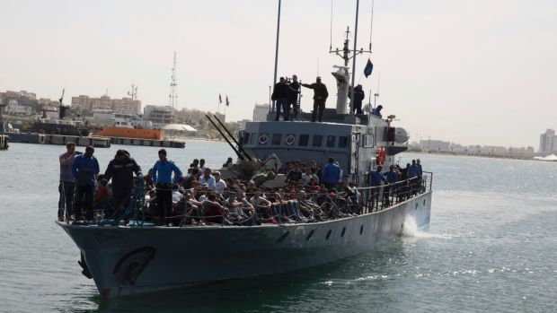 Image result for ngo migrant boats