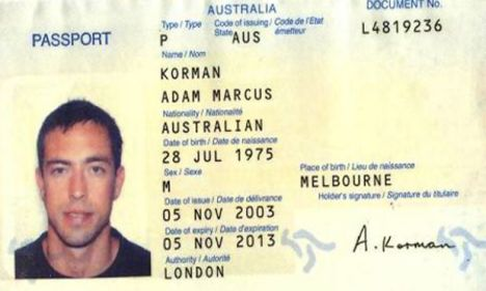passport cloned by mossad