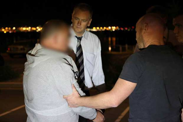 detectives arrest McNamara