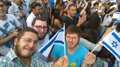 Standing with pride - Isreal