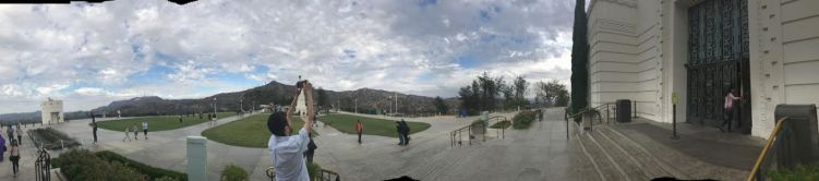 Panorama by Griffith Park Observatory 5777