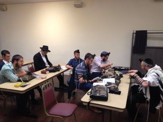 Learning with Rabbi Wolf
