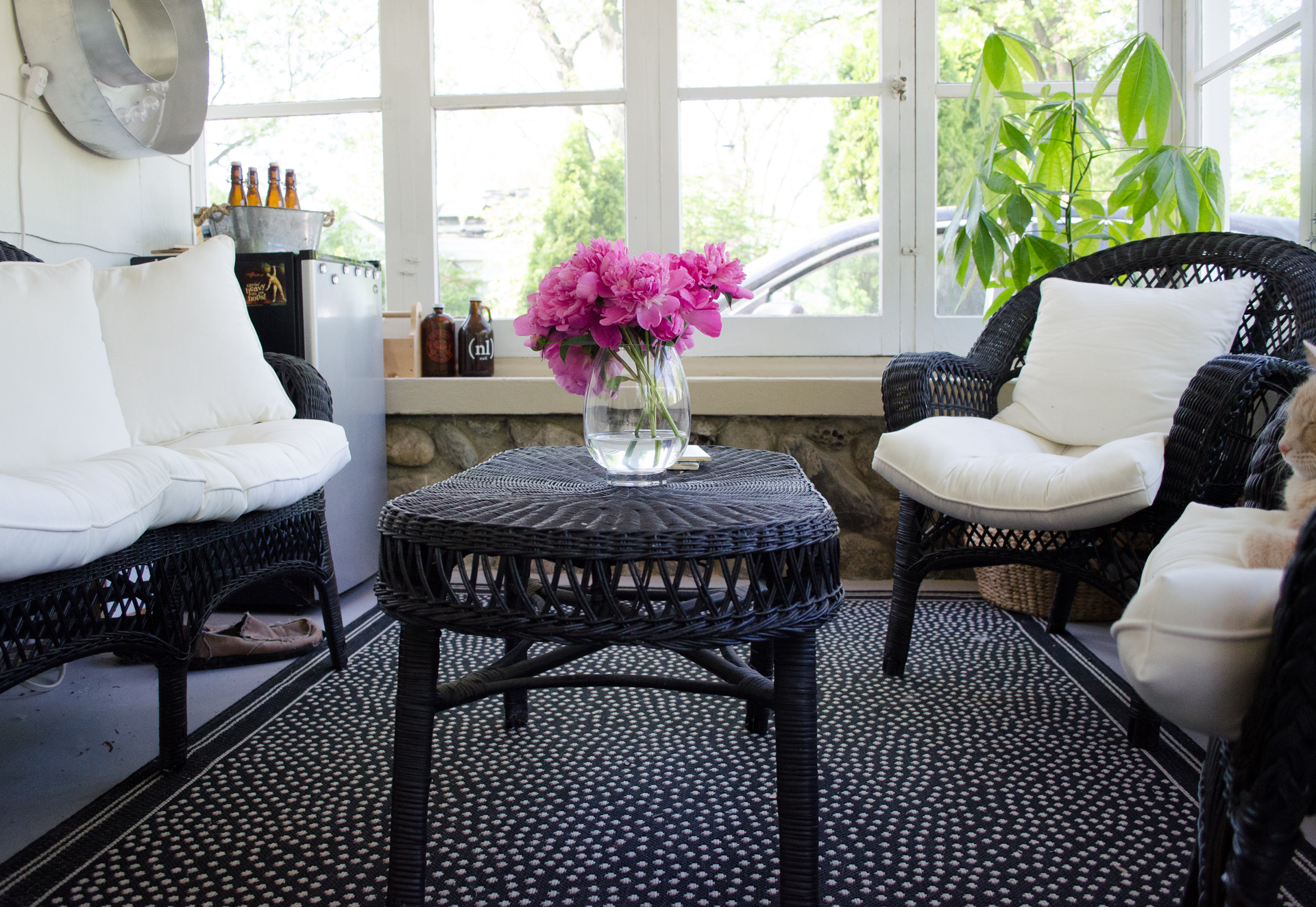 Porch Updates New Indoor Outdoor Rug Smiedendipity