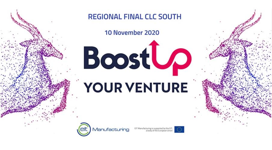 Finale di BoostUP!, Business Idea Competition di EIT Manufacturing – Online martedì 10/11/2020 ore 14