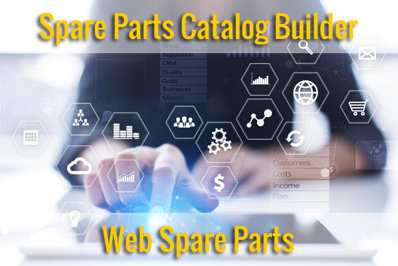 Spare Parts Catalog Builder & Web Spare Parts