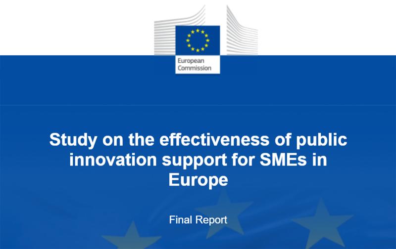 Pubblicato Rapporto UE INNOSUP su efficacia del sostegno pubblico all'Innovazione delle PMI