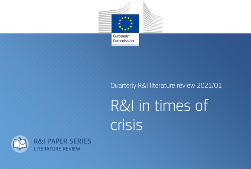 La Commissione UE ha pubblicato un'analisi sulla R&I ai tempi della pandemia
