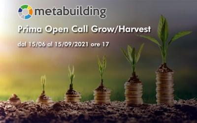 """L'iniziativa europea Metabuilding lancia la sua prima Open Call """"Grow/Harvest"""""""