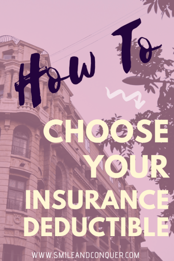 Insurance is confusing and choosing the right insurance deductible for your situation is no easy decision. I'll help you break it down!