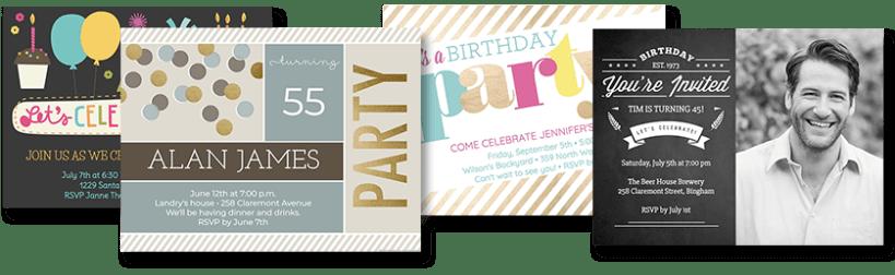 Create Birthday Invitation