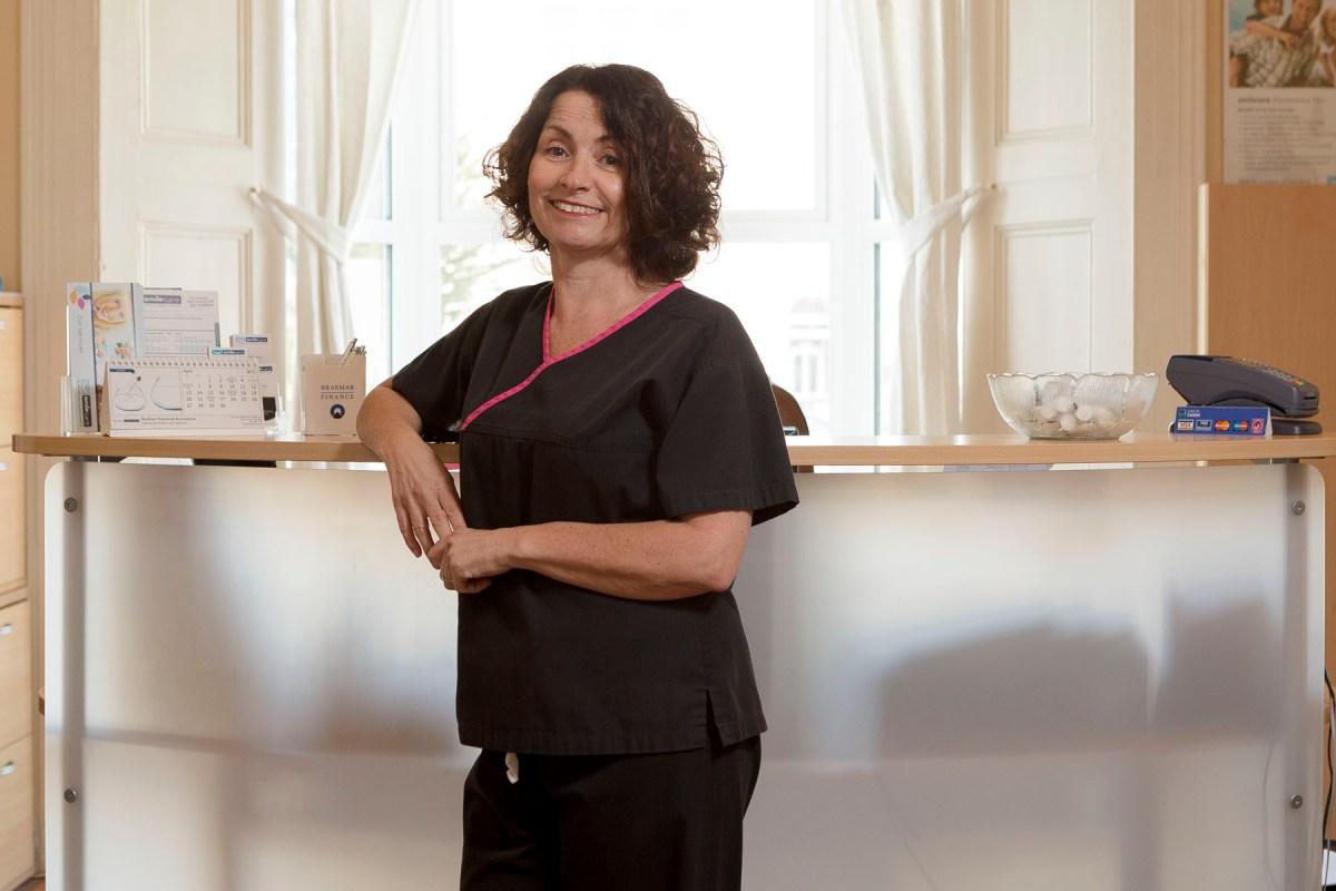 Patsy Mitchell, Dental Nurse GDC no 130746 dental clinic