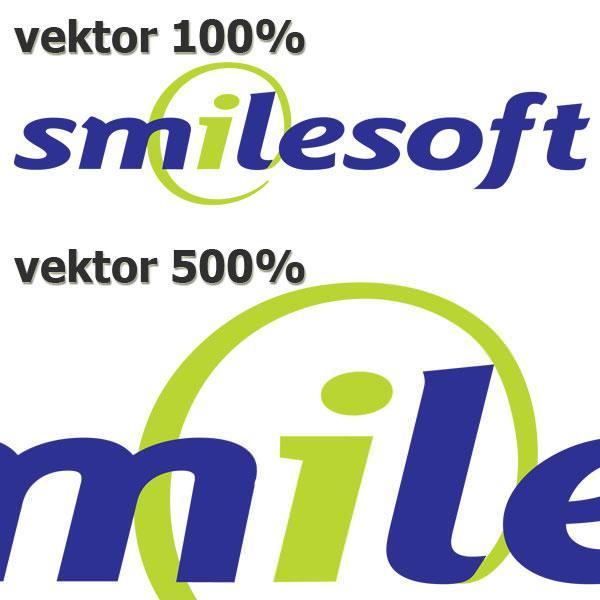 Logo kompanije SmileSoft - vektorska grafika